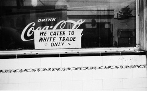 We Cater to White Trade Only c. 1943 (courtesy of the Oregon Historical Society)